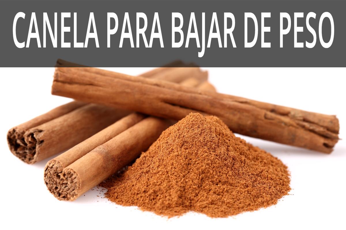 AYUDAS DE LA CANELA PARA BAJAR DE PESO